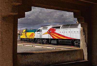 Photograph - Santa Fe Train by John Johnson