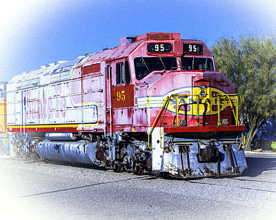 Photograph - Santa Fe Train No-95 by William Havle