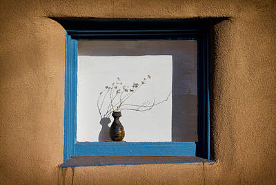 Photograph - Santa Fe Window by Robert Woodward