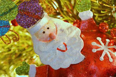 Photograph - Santa Greetings by Andrea Platt