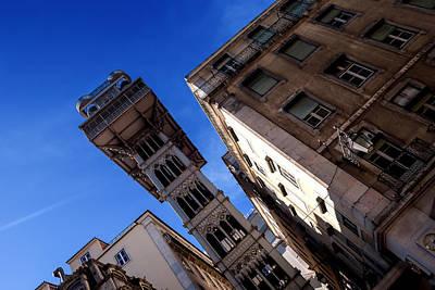 Photograph - Santa Justa Elevator I by Marco Oliveira