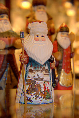 Photograph - Santa  by Lora Lee Chapman