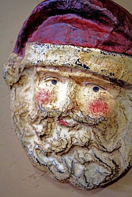 Art Print featuring the photograph Santa by Lynn Sprowl