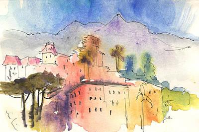Santa Margherita In Italy 01 Art Print by Miki De Goodaboom