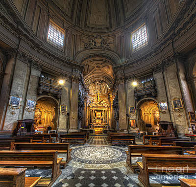 Photograph - Santa Maria Dei Miracoli by Yhun Suarez