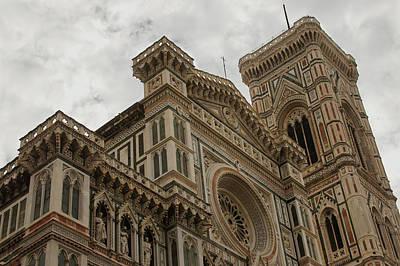 Photograph - Santa Maria Del Fiore - Florence - Italy by Georgia Mizuleva