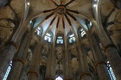 Photograph - Santa Maria Del Mar Basilica I by Kathy Schumann