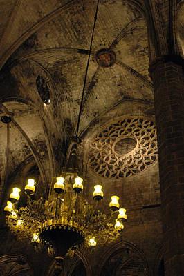 Photograph - Santa Maria Del Mar Basilica V by Kathy Schumann