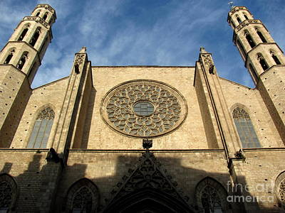 Church Photograph - Santa Maria Del Pi by Greg Mason Burns