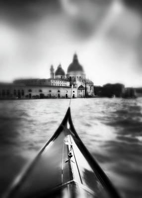Photograph - Santa Maria Del Salute Cathedral From A by Grant Faint