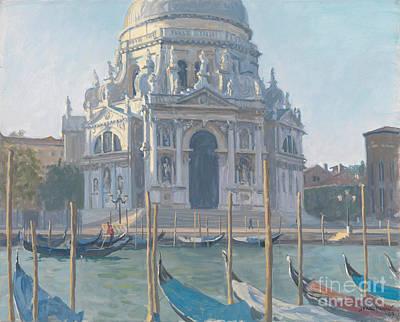 Santa Maria Della Salute Art Print