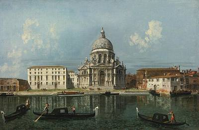 1743 Painting - Santa Maria Della Salute by Celestial Images
