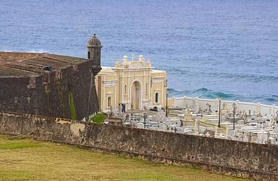 Photograph - Santa Maria Magdalena De Pazzis Cemetery At Old San Juan by Sandra Pena de Ortiz