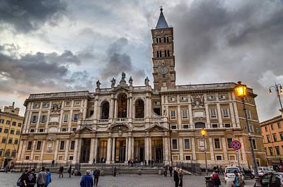 Photograph - Santa Maria Maggiore by Pablo Lopez