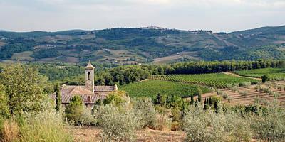 Santa Maria Novella Priory Tuscany Art Print by Mathew Lodge