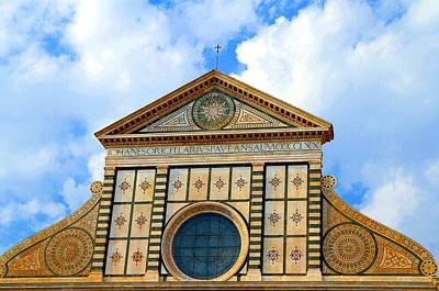 Photograph - Santa Maria Novella Top by Valentino Visentini