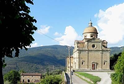 Santa Maria Nuova In Cortona Art Print
