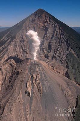 Photograph - Santa Maria Volcano by Stephen & Donna O'Meara