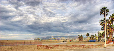 Photograph - Santa Monica Beach by Chuck Staley