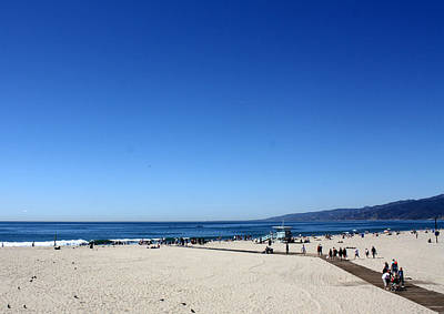 Photograph - Santa Monica Beach by David Nicholls
