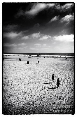 Photograph - Santa Monica Beach Iv by John Rizzuto