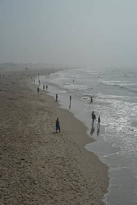 Photograph - Santa Monica Beach by Linda Freebury