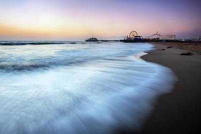 Photograph - Santa Monica Beach by Piriya Photography