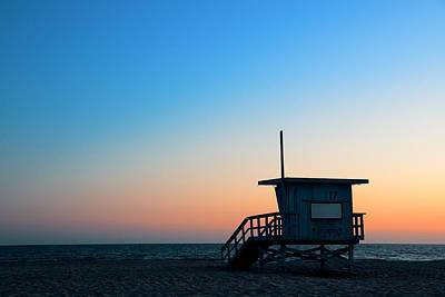 Photograph - Santa Monica Beach  by Songquan Deng