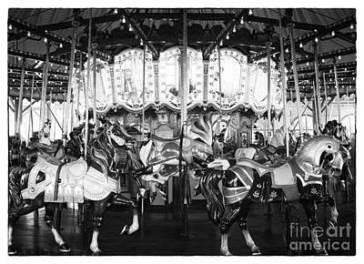 Photograph - Santa Monica Carousel by John Rizzuto