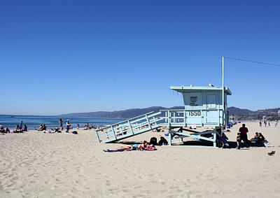 Photograph - Santa Monica by David Nicholls