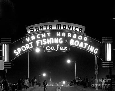 Santa Monica Pier 1 Art Print