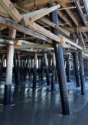Photograph - Santa Monica Pier by David Nicholls