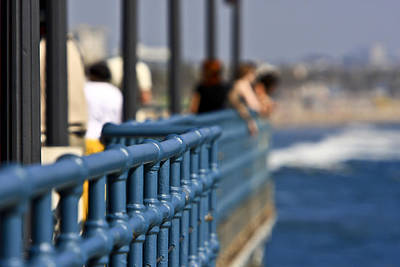 Photograph - Santa Monica Pier by Jim Moss