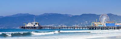 Photograph - Santa Monica Pier by Julie Clements