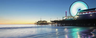 Photograph - Santa Monica Pier by S. Greg Panosian