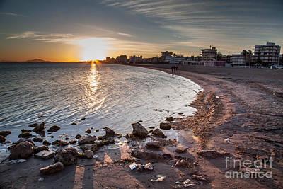 Photograph - Santa Pola's Sunset 2 by Eugenio Moya