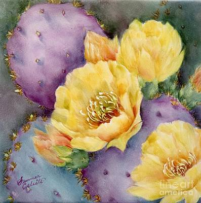 Santa Rita In Bloom Art Print by Summer Celeste