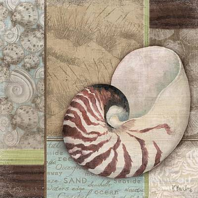 Painting - Santa Rosa Shell II by Paul Brent