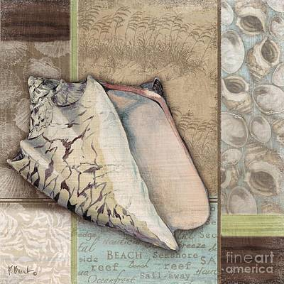 Conch Painting - Santa Rosa Shells I by Paul Brent
