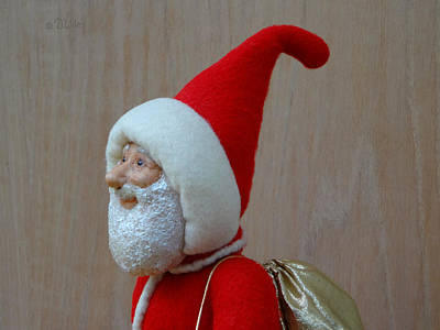 Sculpture - Santa Sr. - In The Spirit by David Wiles