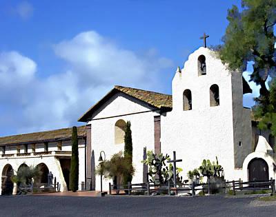 Photograph - Santa Ynez Mission Solvang California by Kurt Van Wagner