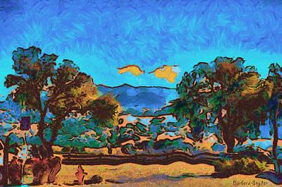 Santa Ynez Valley Santa Barbara County Art Print