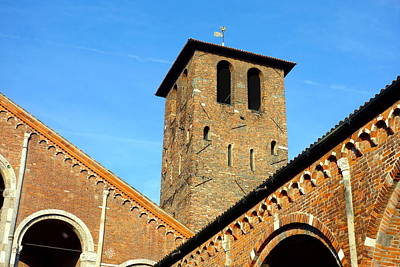 Photograph - Sant'ambrogio by Valentino Visentini