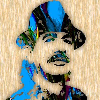 Colorful Mixed Media - Santana Art by Marvin Blaine