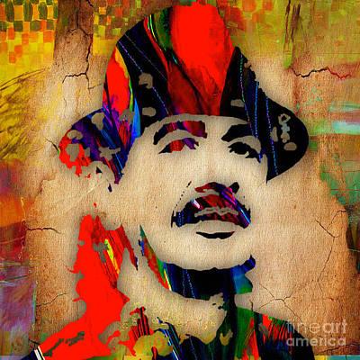 Color Mixed Media - Santana by Marvin Blaine