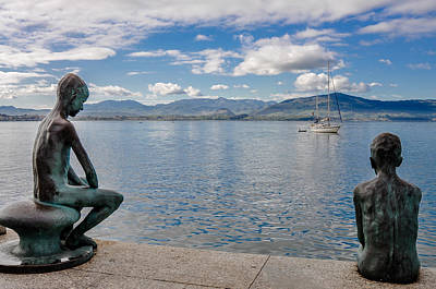 Cabo Digital Art - Santander Spain by Alex Hiemstra