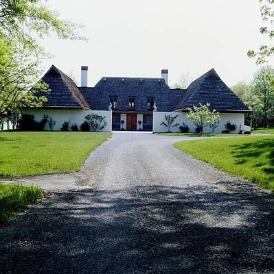 Photograph - Santangelo's House by Horst P. Horst