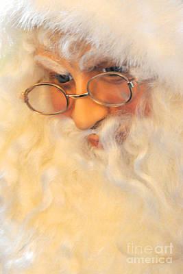 Santa's Beard Art Print