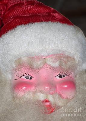 Santa's Been Drinking Again Art Print