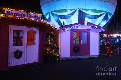 Photograph - Santa's Grotto In The Winter Gardens Bournemouth by Terri Waters